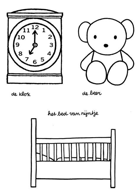 Nijntje Baby Kleurplaat by Kinderfilmpjes Nijntje