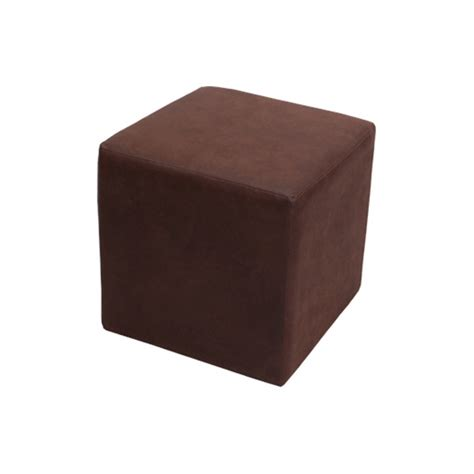 neutral home interior colors leather cube brown formdecor