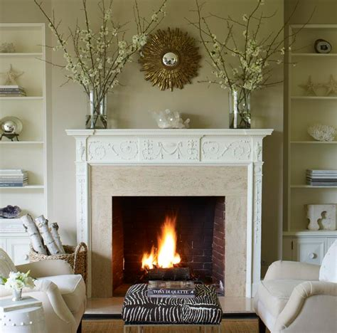 Decorating Ideas For Fireplace Mantel by Fall Mantel Decorating Ideas Brick Fireplace Makeover