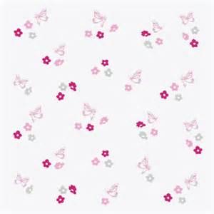 Papier Peint Fleurs Roses by Papier Peint Fleurs Et Papillons Roses Et Gris Fond Blanc