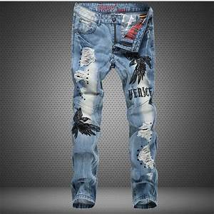 New Sale Brand Mens Jeans uk 2015 Latest Fashion Cool Motorcycle Casual Blue Men Flare Jeans ...