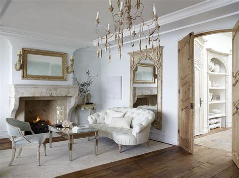 French Mirrored Coffee Table Design Ideas
