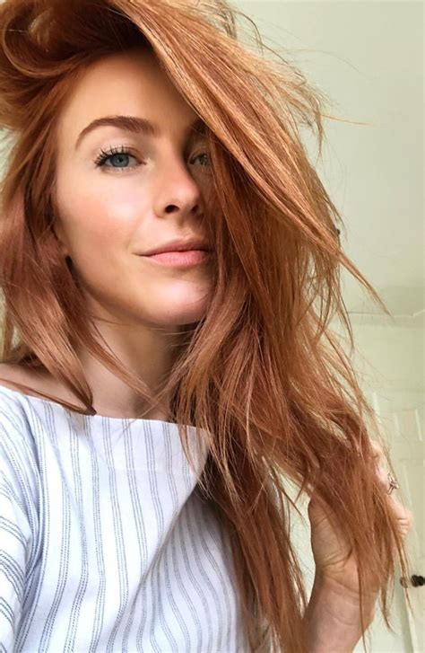 Julianne Hough Red Hair Color Moi Hair Red Blonde