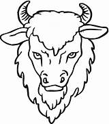 Buffalo Coloring Head Bison Drawing Clipart Yak African Cape Outline Drawings Wildlife Horns Realistic Clipartmag Coloringbay Getdrawings Paintingvalley Results sketch template