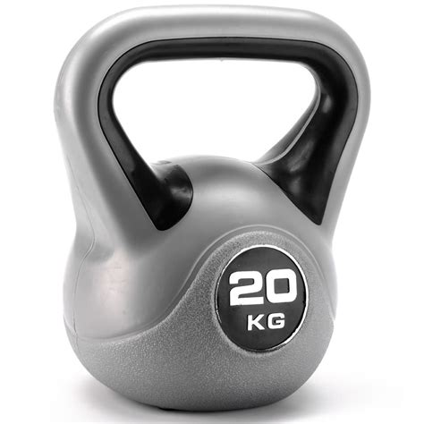 kettlebell 20kg vinyl york kettlebells dkn fitness kg kettle bells gym sweatband equipment exercise