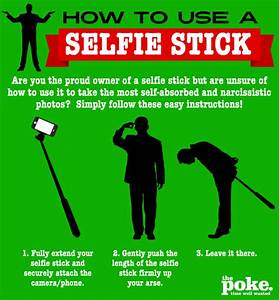 How To Use A Se... Funny Selfie Stick Quotes