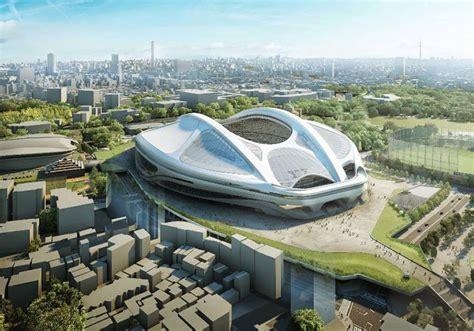 Japan Drops Zaha Hadid's Design For Olympic Stadium Tokyo