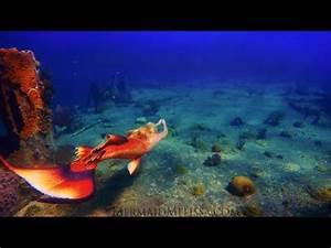 Real-Life Mermaid Melissa at Shipwreck Deep Underwater ...