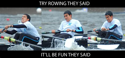 Boat Puns Reddit by It Will Be Fun They Said Rowing