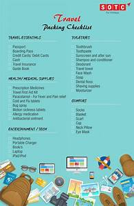 your ultimate travel packing checklist sotc