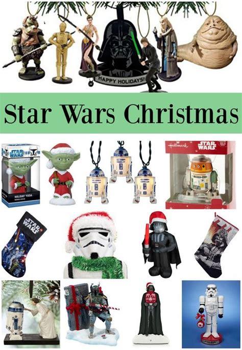 star wars christmas gifts and decorations star wars