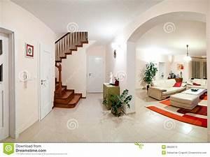 Maison Deco Com : int rieur de maison moderne photo stock image du maison ~ Zukunftsfamilie.com Idées de Décoration