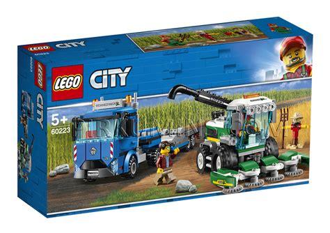 60223 LEGO® City Ražas novākšanas kombains, no 5+ gadiem ...