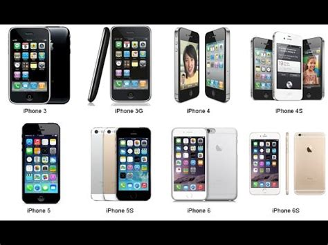 how do i what iphone i history of iphone from iphone 1 to iphone 7