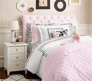 Chesterfield Upholstered Bed Headboard Pottery Barn Kids