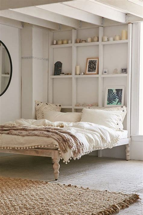 bohemian platform bed urban outfitters home decor