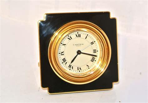 pendulette de bureau cartier pendulette de voyage réveil horloge de bureau