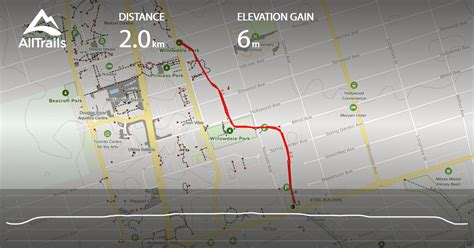 willowdale ontario canada park trail alltrails map