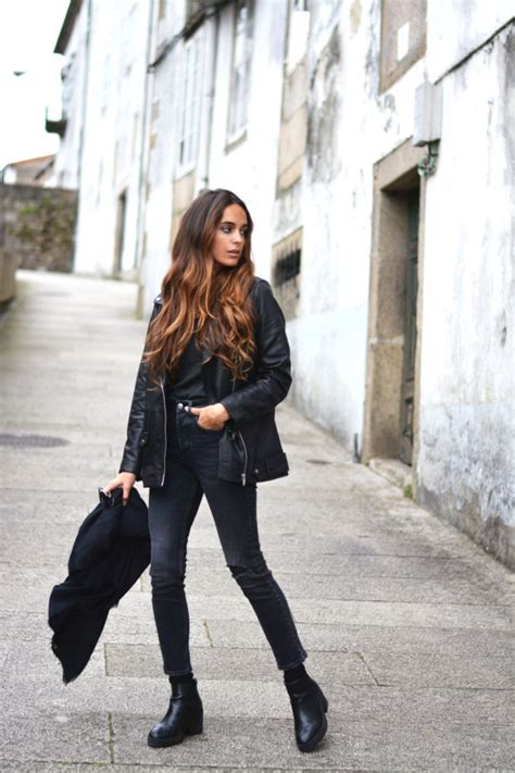 Rev Up Your Wardrobe With These Leather Jacket Outfits