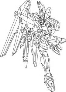 Strike Freedom Gundam Coloring Pages