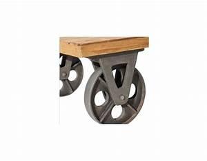 Roulettes Industrielles Anciennes : table rabattable cuisine paris meuble toff en belgique ~ Teatrodelosmanantiales.com Idées de Décoration