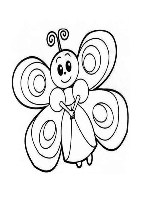 coloring pages butterfly coloring preschool