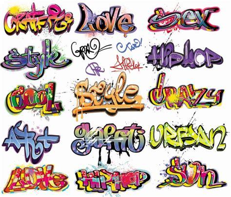 bruitage cuisine graffiti vector