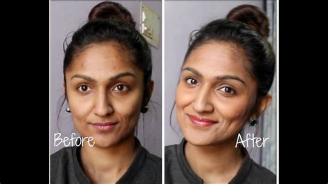 indian skin color acne prone skin foundation routine indian olive skin