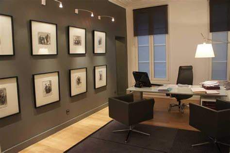 decoration de bureau maison créer bureau design