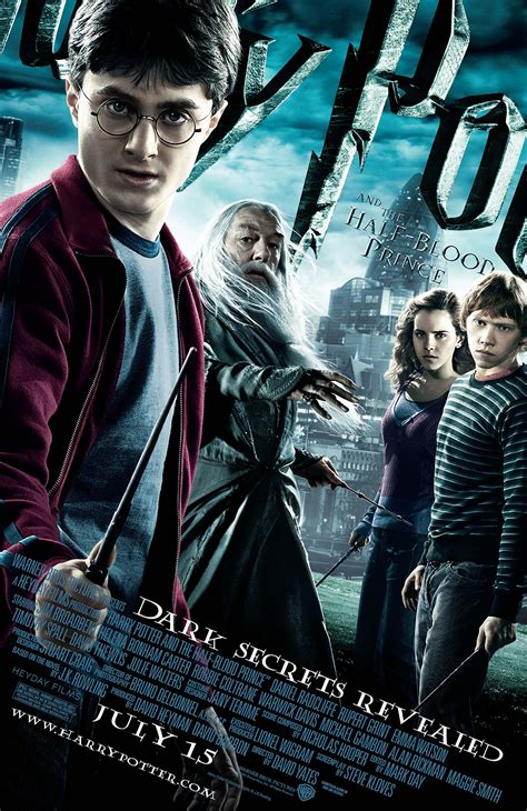 harry potter and the half blood prince theatrical poster harry potter fan zone