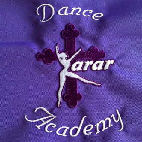 embroidery dance school logos  kelso custom covers