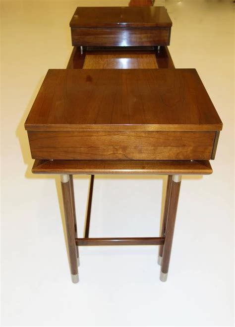 mid century modern writing desk or vanity for sale at 1stdibs