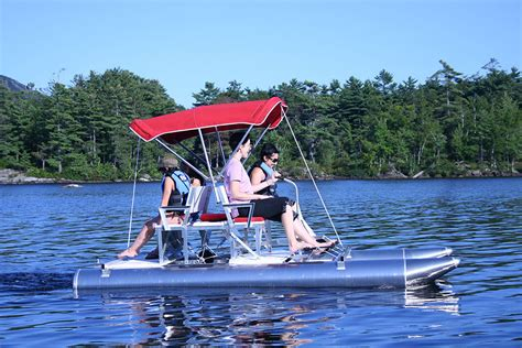 Aqua Cycle Pontoon Paddle Boat For Sale by Aqua Cycle Ii Aqua Cycle Pontoon Paddle Boats