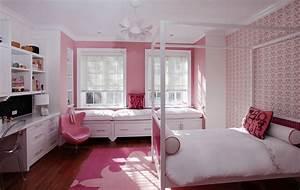 Interior Design Bedroom For Teenage Girls Pink Type ...