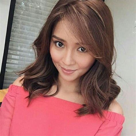 celfie  hair cuts curl styles filipina beauty