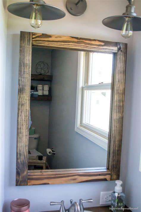 diy scrap wood mirror