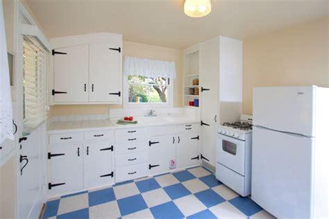checkerboard kitchen floor timeless retro cottage kitchen design ideas and other 2130
