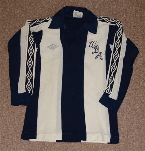 West Bromwich Albion Home football shirt 1977 - 1981 ...