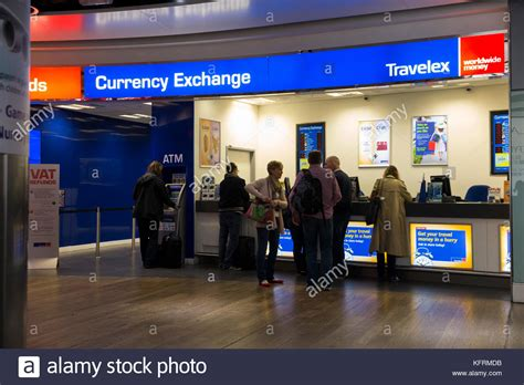 bureau de change heathrow airside heathrow stock photos airside heathrow stock