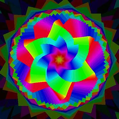 Colorful Gifs Giphy Animated Fractal Abatract 3d