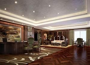 America CEO office interior design