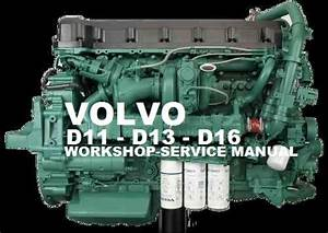 Volvo Truck D11 D13 D16 Engine Workshop Service Repair