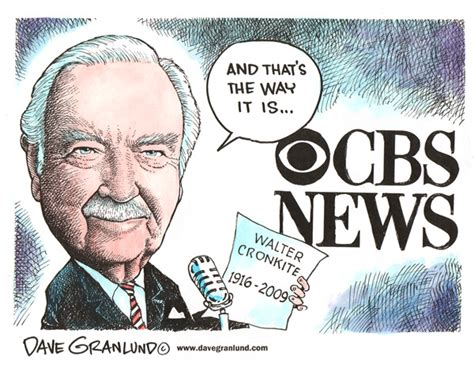 """and That's The Way It Is."" Cbs News Anchor Walter"