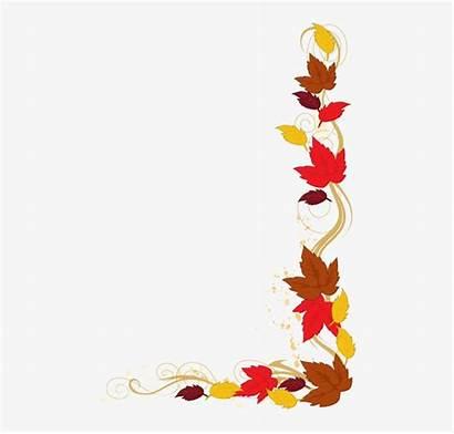 Borders Clip Autumn Leaves Clipart Harvest Panda