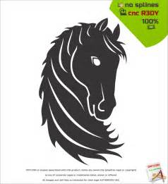 Horse DXF Files Free