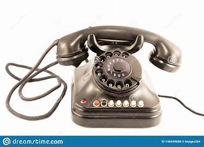 Telephone Altes Telefon Telefoon Oude Isolated Schalttafel