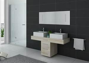meuble de salle de bain 140 cm double vasque meuble With meuble vasque