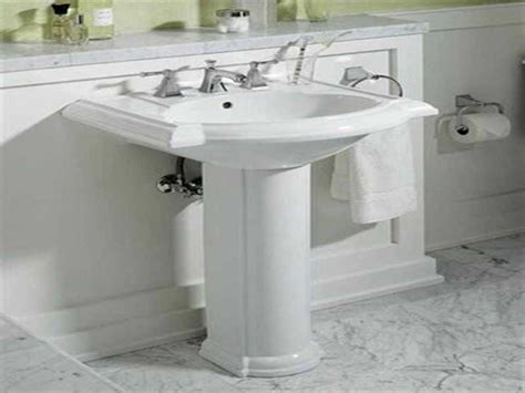 small pedestal sinks for small bathrooms corner pedestal sink small corner bathroom sink base