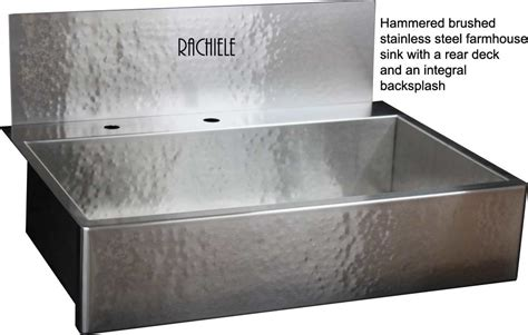 hammered stainless steel farmhouse sink stainless steel farmhouse apron front workstation sinks