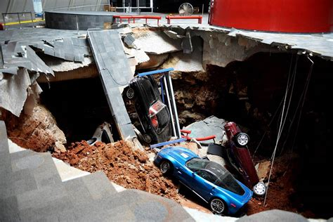 corvette museum commemorates 2014 sinkhole with new